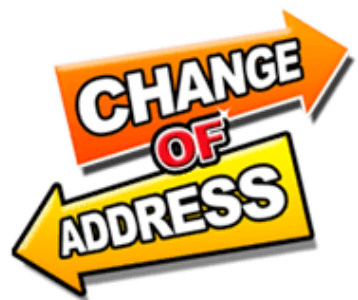 change of address